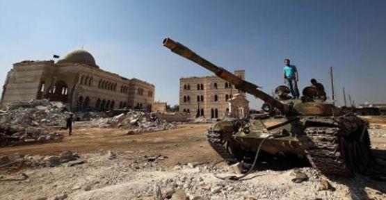 Esad'ın Tankları PYD'ye Sığındı...