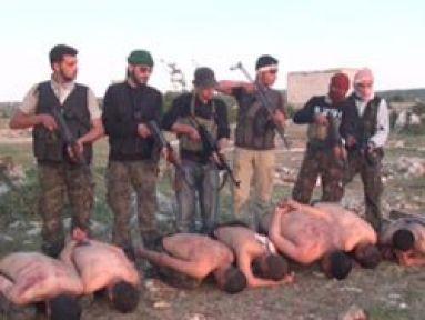 Esed Askerlerine İnfaz Görüntüleri...