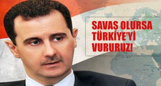 Esed Müdahale olursa Türkiye'yi vuracak