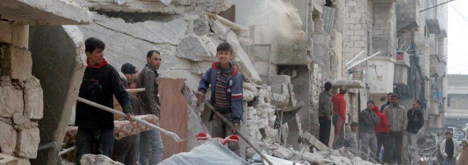 Esed varil bombaları ile öldürüyor
