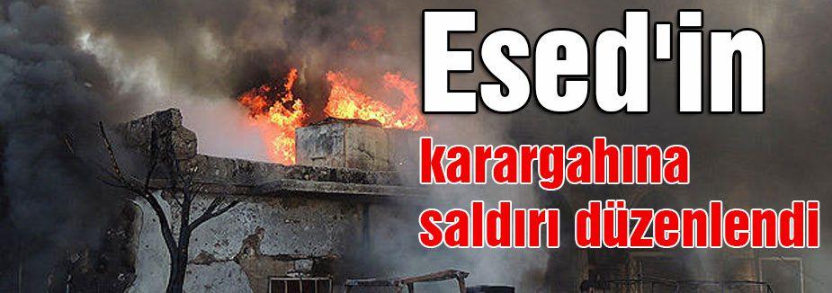 Esed'in karargahına saldırı düzenlendi