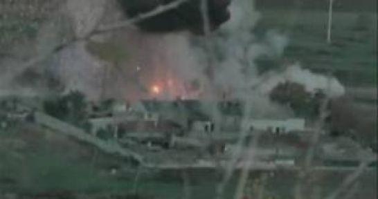 Esed'in Sarayına Roket Saldırısı