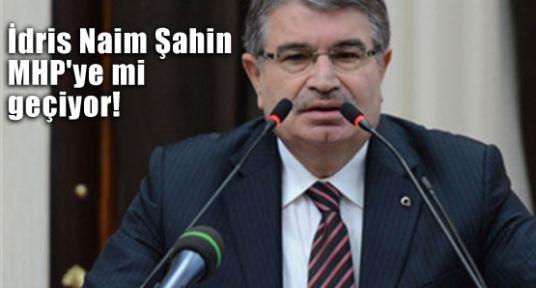 Eski Bakan Şahin, MHP'ye mi geçiyor!