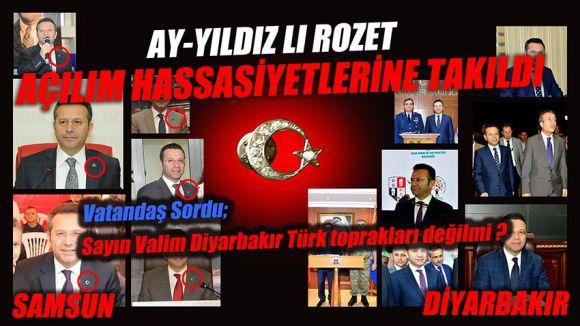 Eski Samsun Valisi Aksoy'un Bayrak Rozeti Nerede?