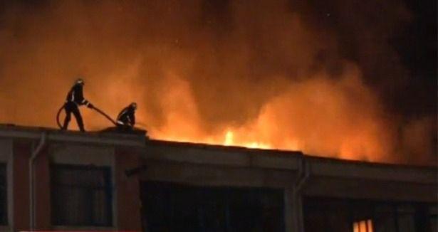 Eskişehir Cezaevi'nde yangın