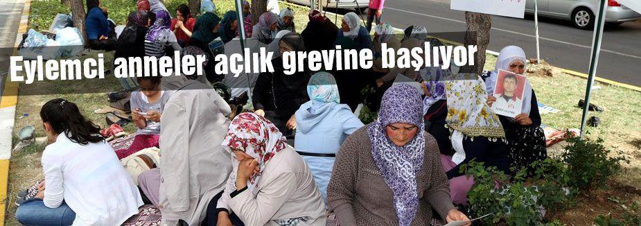 Eylemci anneler açlık grevine başlıyor