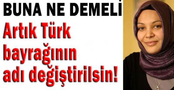 Eyvah! Türk Bayrağının Adını da değişecekler