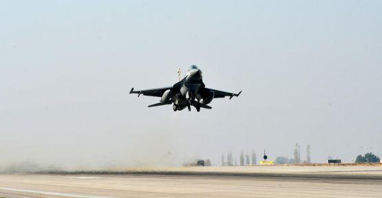 F-16'lar engelledi...