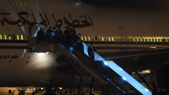 Fas Kralı 5 uçakla Türkiye'de