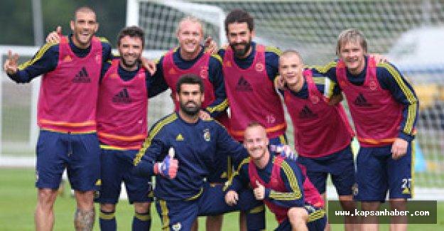Fenerbahçe'de Fernandao, takımla çalışmalara başladı