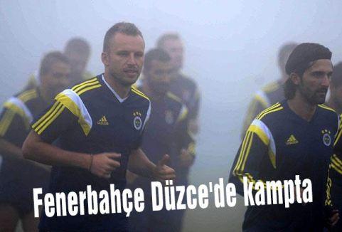 Fenerbahçe Düzce'de kampta