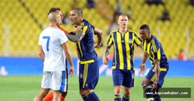 Fenerbahçe, hazırlık maçında Dnipro'ya 1-0 mağlup oldu