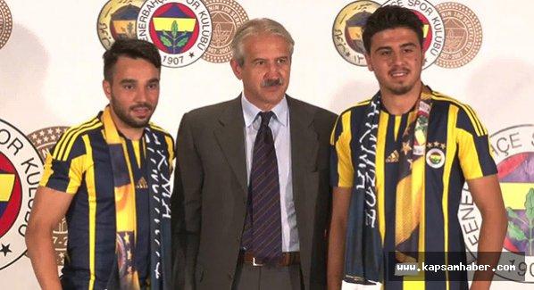Fenerbahçe Volkan Şen ve Ozan Tufan'a imzayı attırdı