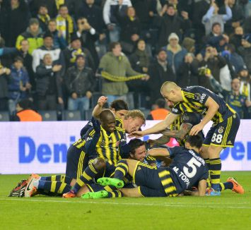 Fenerbahçe zirvedeki yerini sağlamlaştırdı...