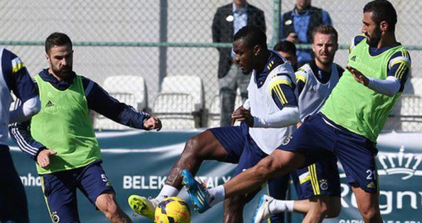 Fenerbahçe'de ikinci yarı hazırlıkları