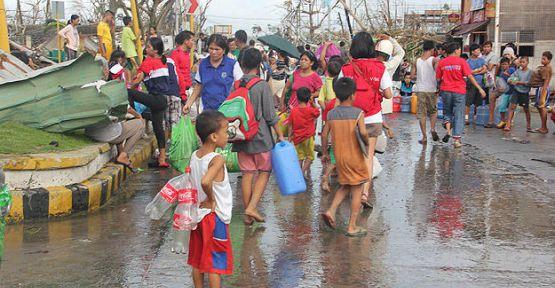 Filipinler'de ölü sayısı 2 bin 357'ye yükseldi...