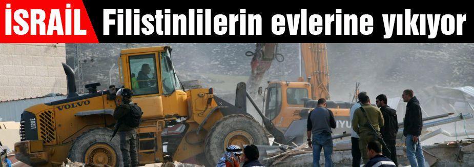 Filistinlilerin evlerine yıkım...