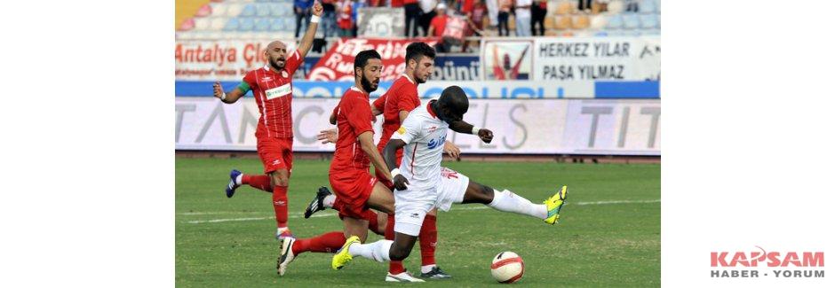 Finale yükselen iki takım Antalyaspor ile Samsunspor oldu.
