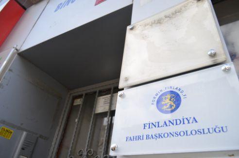 Finlandiya Konsolosluğu'nda korku dolu dakikalar