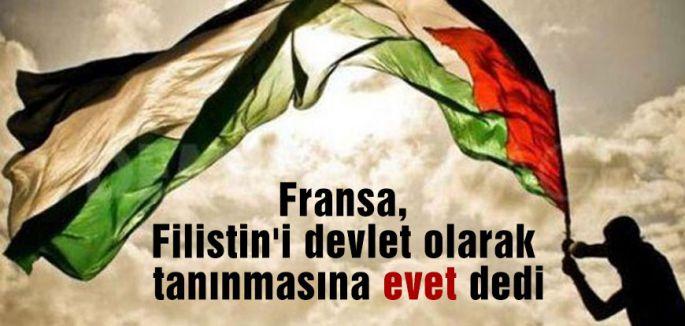 Fransa, Filistin'e EVET Dedi