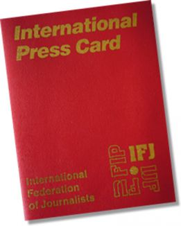 Freelance çalışanlar da Uluslararası Basın Kartı alabilecek