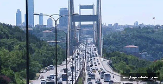 FSM Köprüsü'nde bayram dönüşü