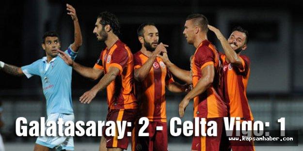 Galatasaray: 2 - Celta Vigo: 1