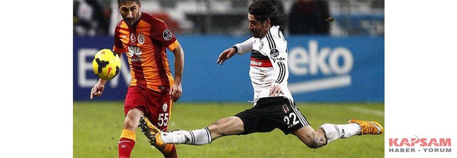 Galatasaray-Beşiktaş maçında ilk 11'ler belli oldu