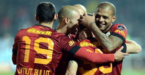 Galatasaray-Elazığspor Maç'ında Neler Oldu...
