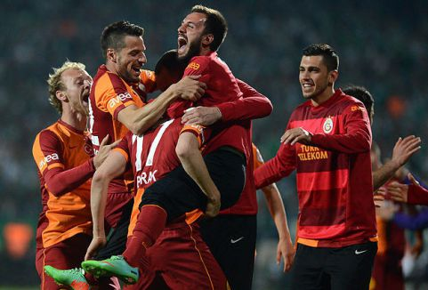 Galatasaray ilk finalist...