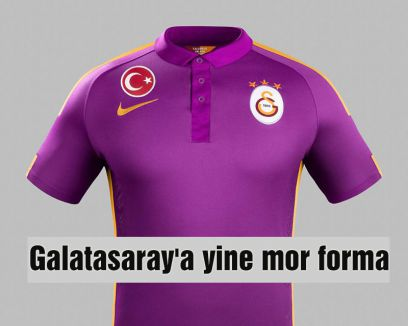 Galatasaray'a yine mor forma
