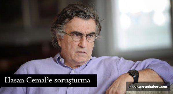Gazeteci Hasan Cemal'e soruşturma