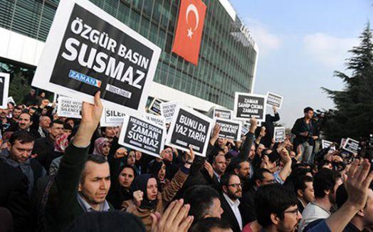 Gazeteciler Cemiyeti: Özgür basın baskılarla baskınlarla susturulamaz