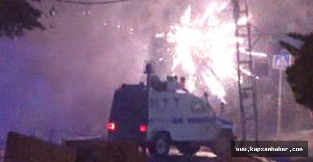 Gazi Mahallesi'nde olay
