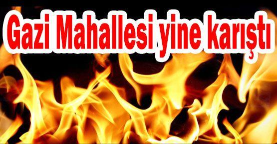 Gazi Mahallesinde Ateşli Protesto!
