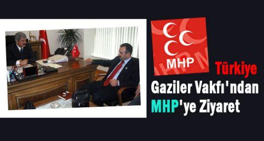 Gaziler Vakfı'ndan MHP'ye Anlamlı Ziyaret...