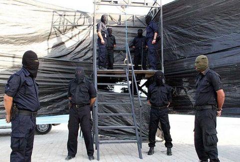 Gazze'de 11 kişiye idam
