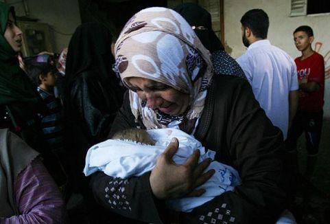 Gazze'de 1830 kişi öldü...