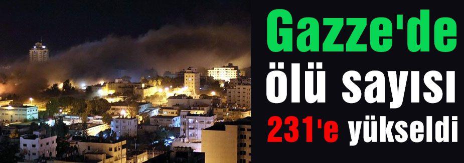 Gazze'de 231' ölü