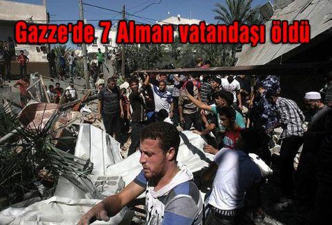Gazze'de 7 Alman vatandaşı öldü