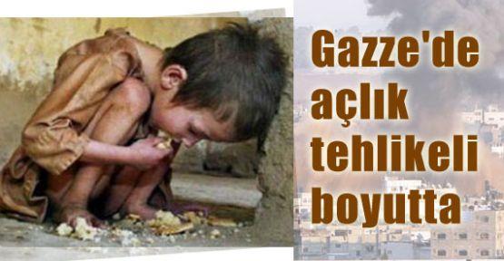 Gazze'de Açlık Tehlikeli Boyutta