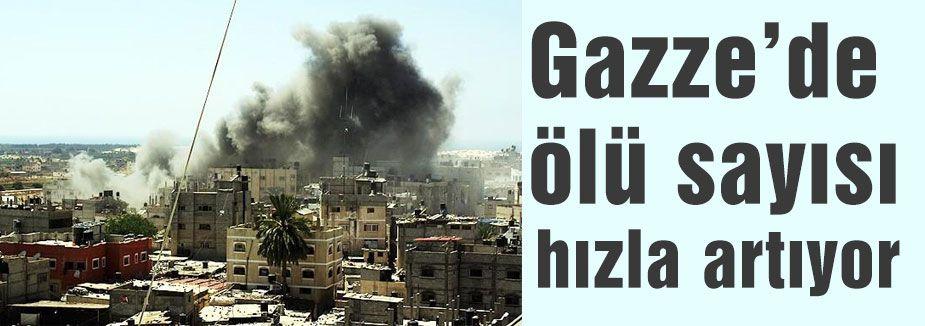 Gazze'de ölü sayısı 836