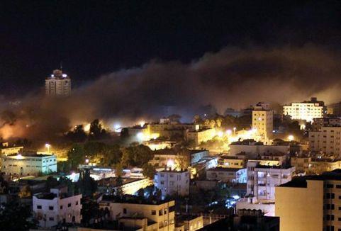 Gazze'den İsrail'e roket atıldı...