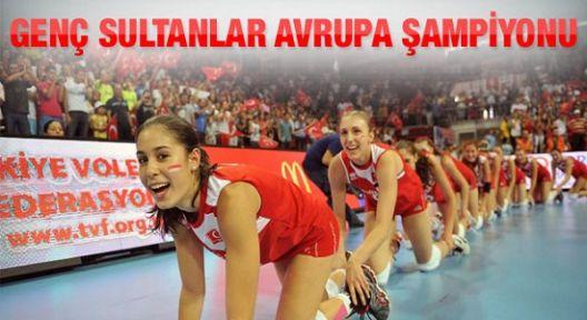Genç Kızlarımız Avrupa Şampiyonu