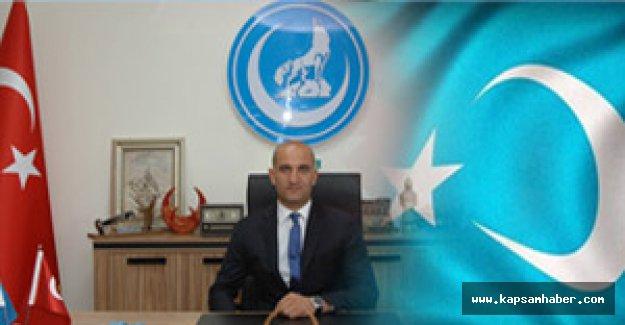 Genel Başkan Kılavuz'dan Doğu Türkistan kıyımıyla ilgili sert açıklama