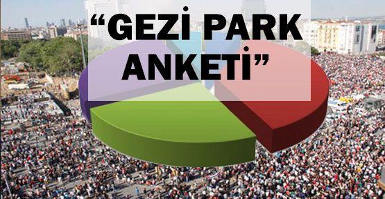 Gezi Park Anketi...