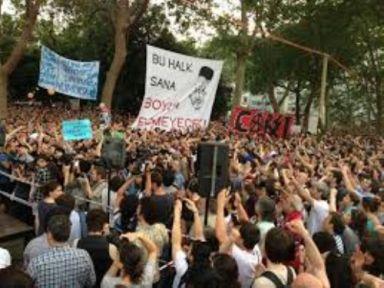 Gezi Parkı eylemlerinin tüm sorumluluğunu üstleniyoruz