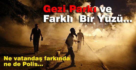Gezi Parkı ve Farklı  Bir Yüzü...