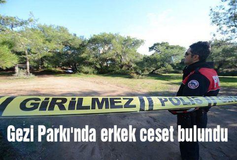 Gezi Parkı'nda erkek ceset bulundu