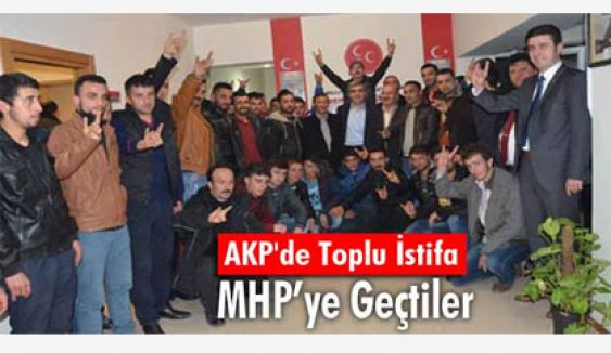 Giresun'da AKP'den toplu istifa